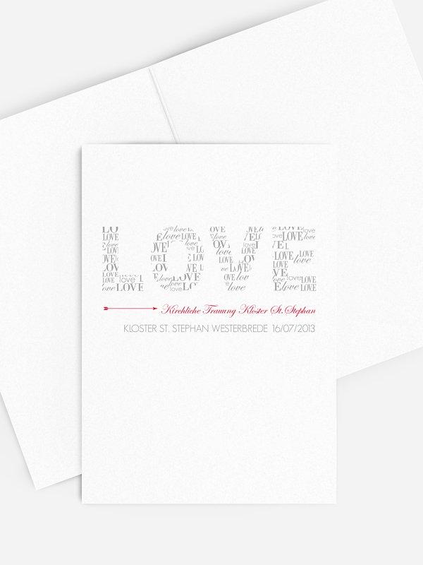 Kirchenheft Hochzeit Liebevoll