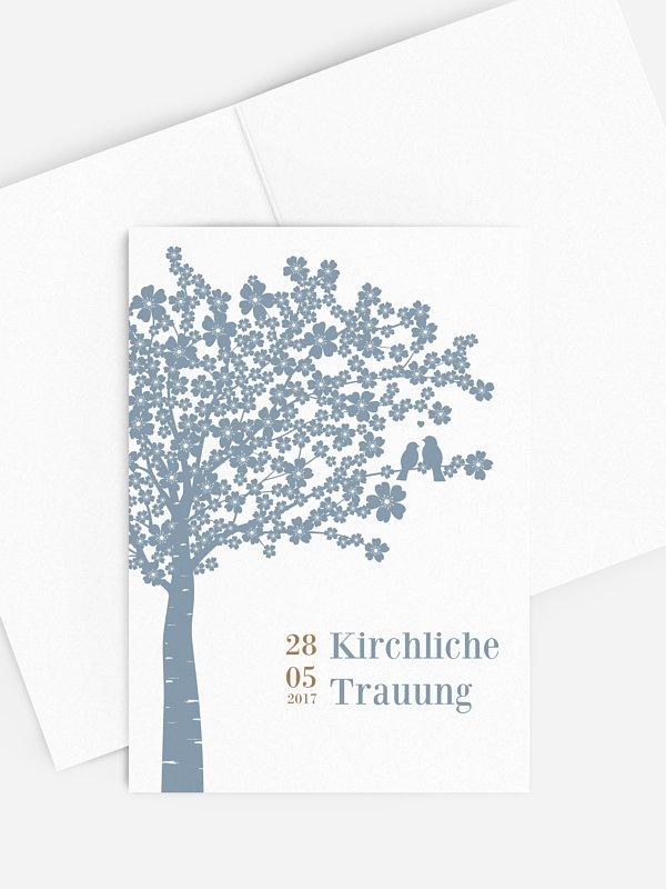 Kirchenheft Hochzeit Kirschblüten