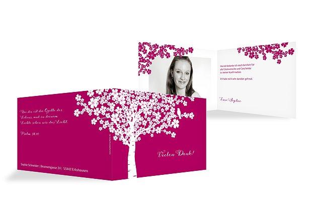 konfirmationskarten einfach selbst gestalten & drucken, Einladungsentwurf