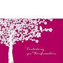 """Konfirmationseinladung """"Kirschblüten"""""""