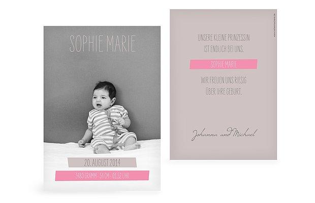 Elegant Danksagung Geburt Sprüche Geburtskarten Gestalten Die Schönsten Karten In 1  2 Tagen