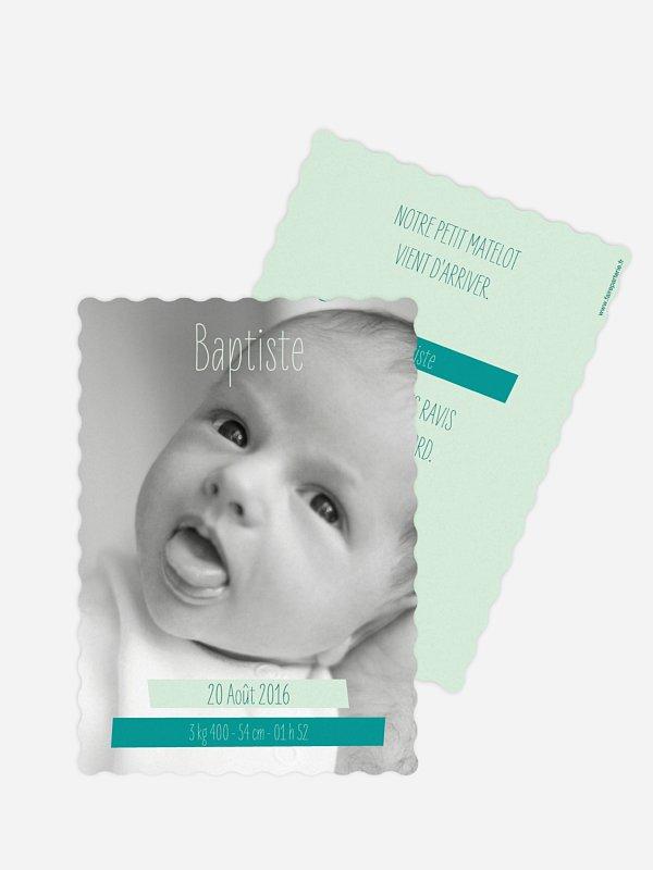 Faire-part naissance En images
