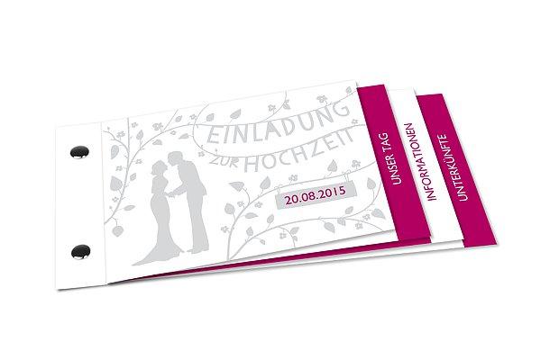Hochzeitseinladung Romantisch