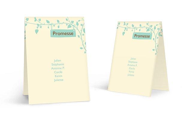 Nom de table mariage Romantique