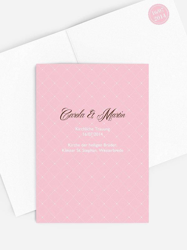 Kirchenheft Hochzeit Funkelnd