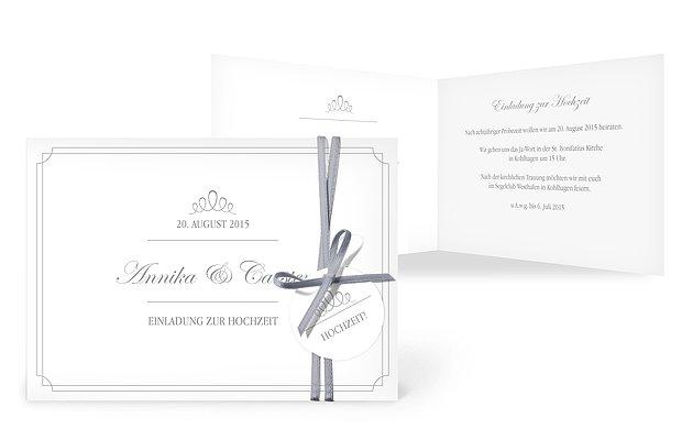 Hochzeitseinladung Noblesse. Sprüche Zum Thema Hochzeit