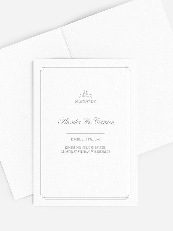 Kirchenheft Hochzeit Noblesse