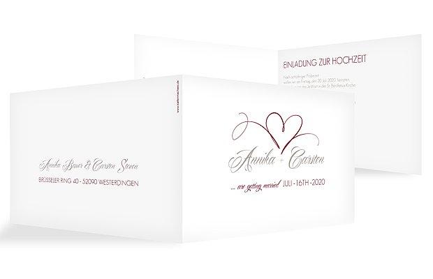 Hochzeitskarten Individuelle Karten zur Hochzeit gestalten & drucken