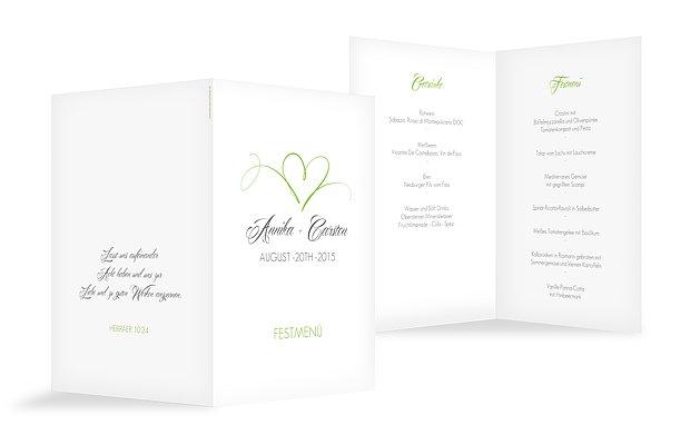 Menükarten zur Hochzeit » Professionell und individuell ...