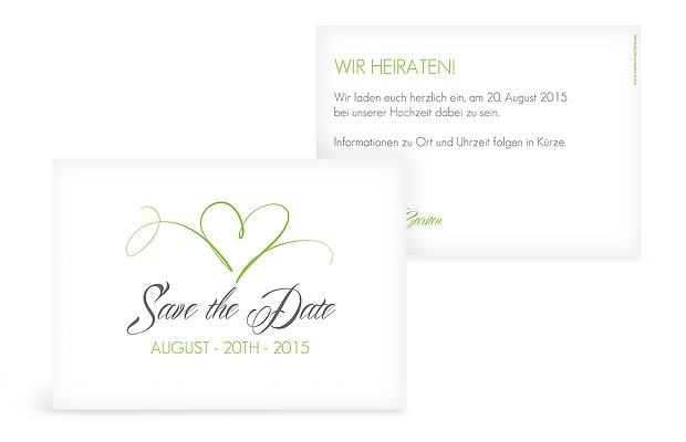 save the date sprüche Save the Date Karte