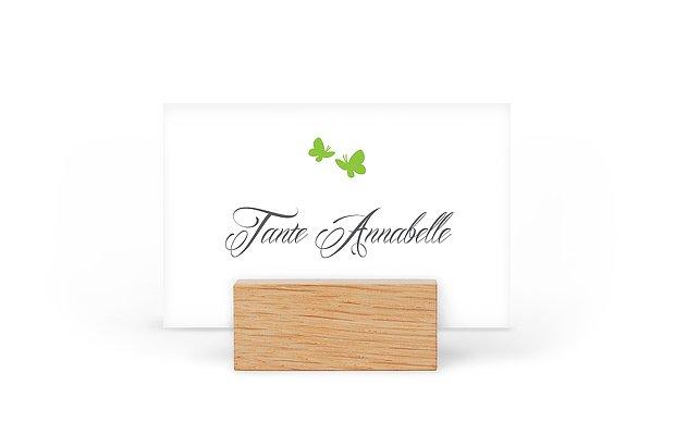 Tischkarte Hochzeit Butterflies