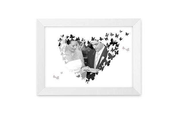 Wandbild Hochzeit Butterflies