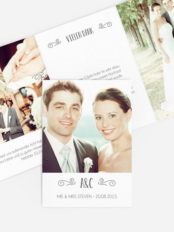 Dankeskarte Hochzeit Glück