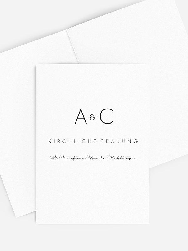 Kirchenheft Hochzeit Script