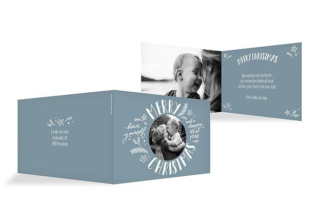 Weihnachtskarten mit foto ganz einfach online gestalten for Weihnachtskarten text privat
