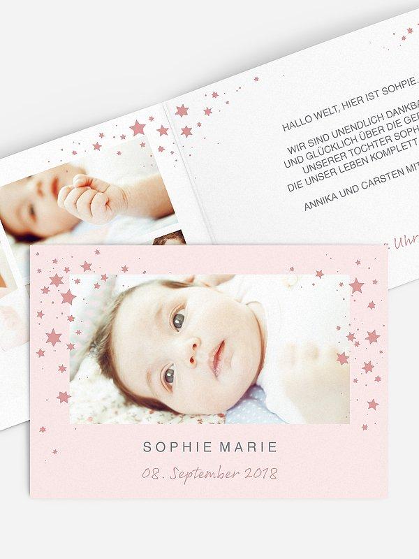 Geburtskarte Stella