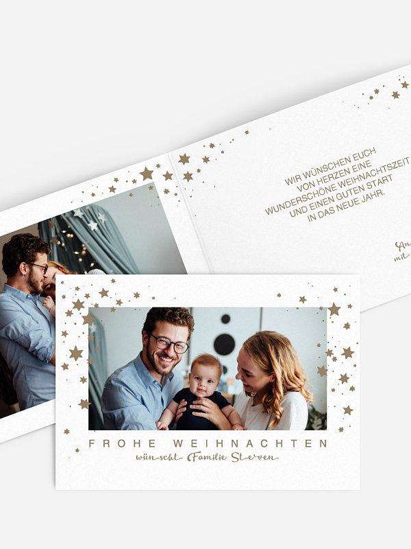 Weihnachtskarte Stella