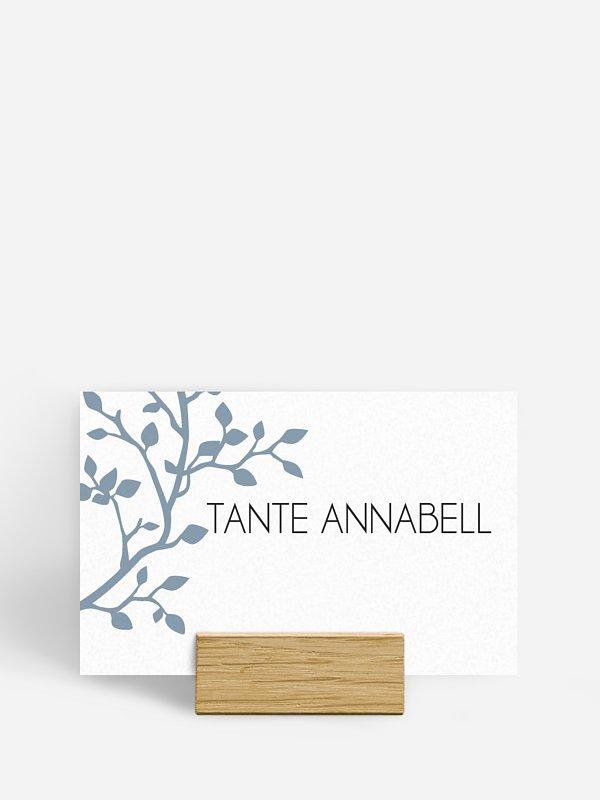 Tischkarte Hochzeit Vereint