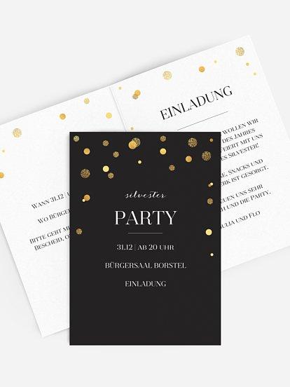 "Partyeinladung ""Let It Sparkle"""