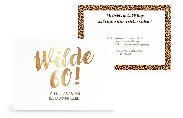 einladung zum 60 geburtstag einladungskarten gestalten. Black Bedroom Furniture Sets. Home Design Ideas