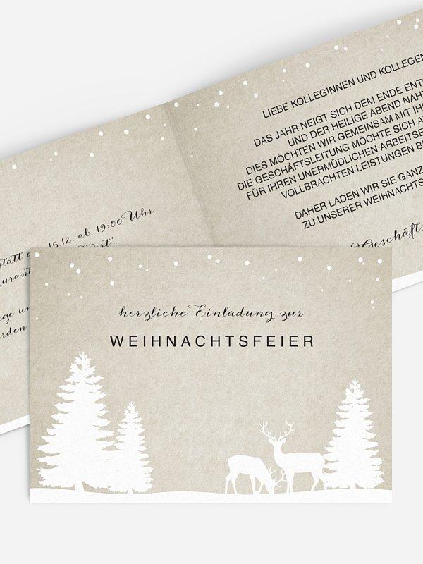Weihnachtsfeier Waldzauber