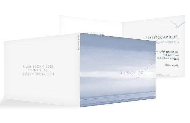 Trauerkarte Horizont