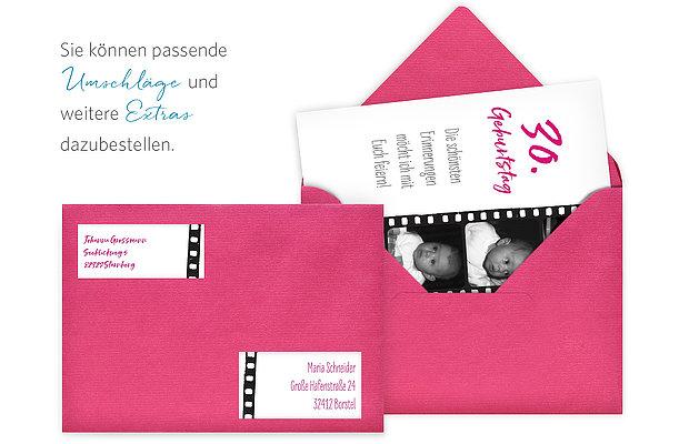Einladungskarten 30 Geburtstag