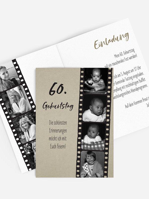 Einladung 60 Geburtstag Text