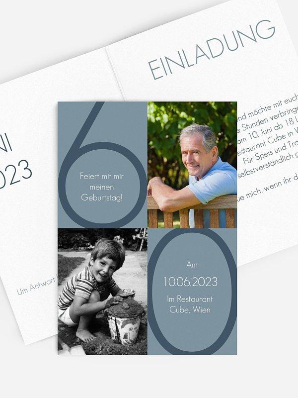 Einladung 60. Geburtstag Im Fokus