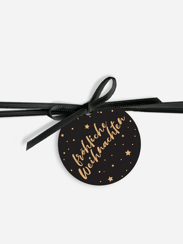 Geschenkeanhänger Starlight