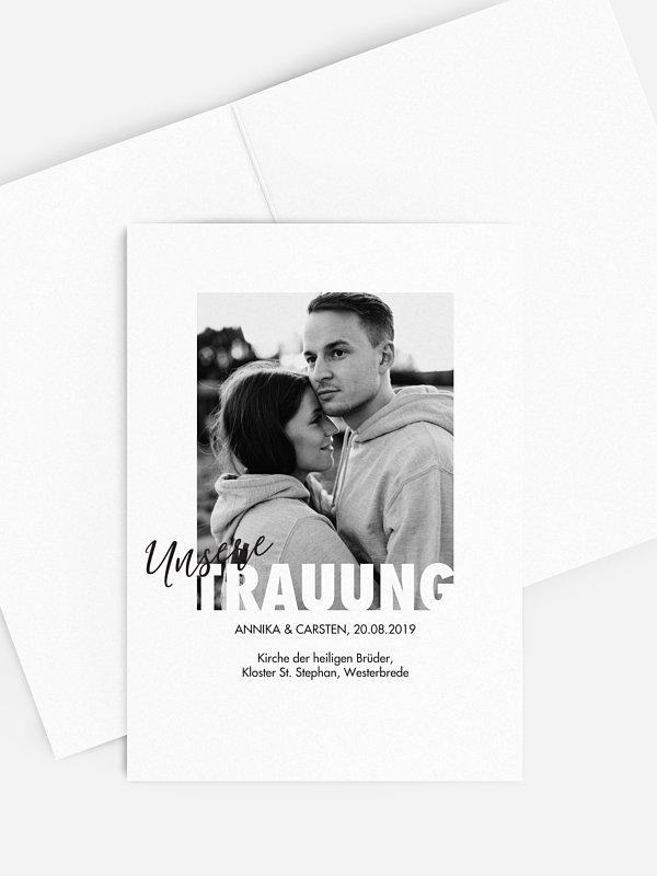 Kirchenheft Hochzeit Wir Heiraten