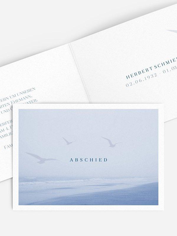 Trauerkarte Meeresrauschen