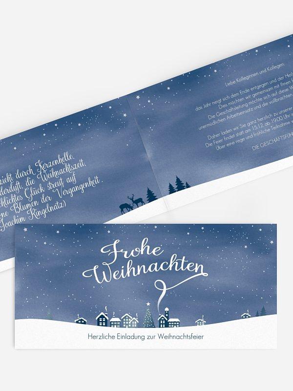 Weihnachtsfeier Winterstadt