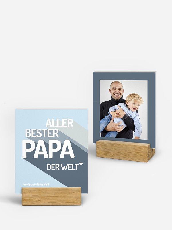 Fotohalter Vatertag Retro