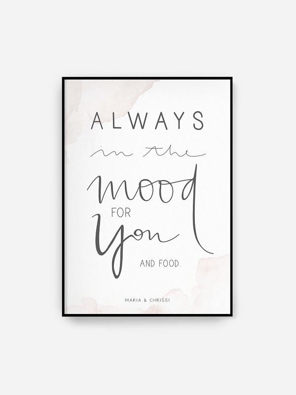 Poster Always You by Marry Kotter