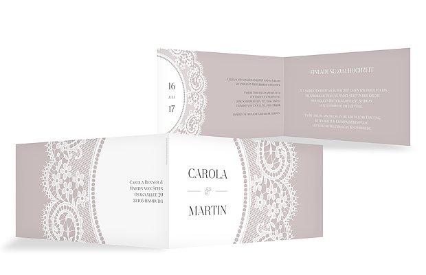 Einladung Zur Hochzeit Chantilly