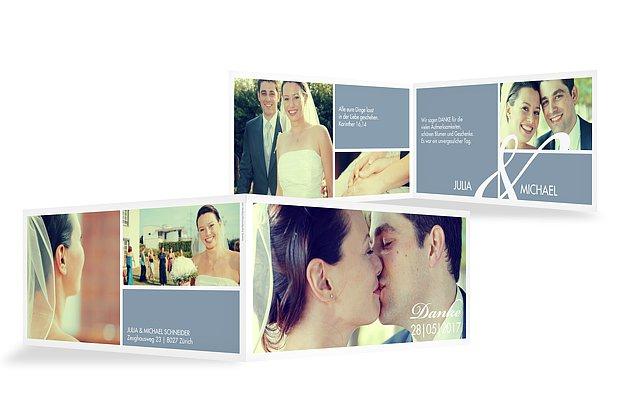 Dankeskarte Hochzeit Perfect Match