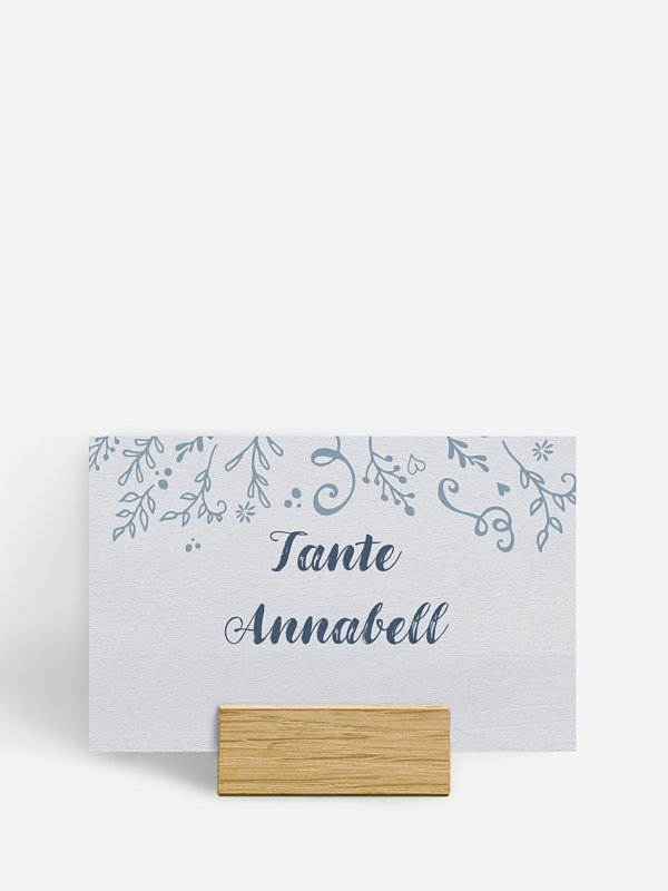 Tischkarte Hochzeit Lovely Branch