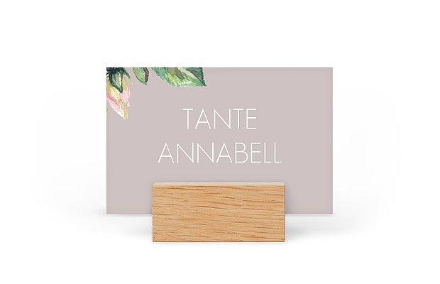Tischkarte Hochzeit Floret