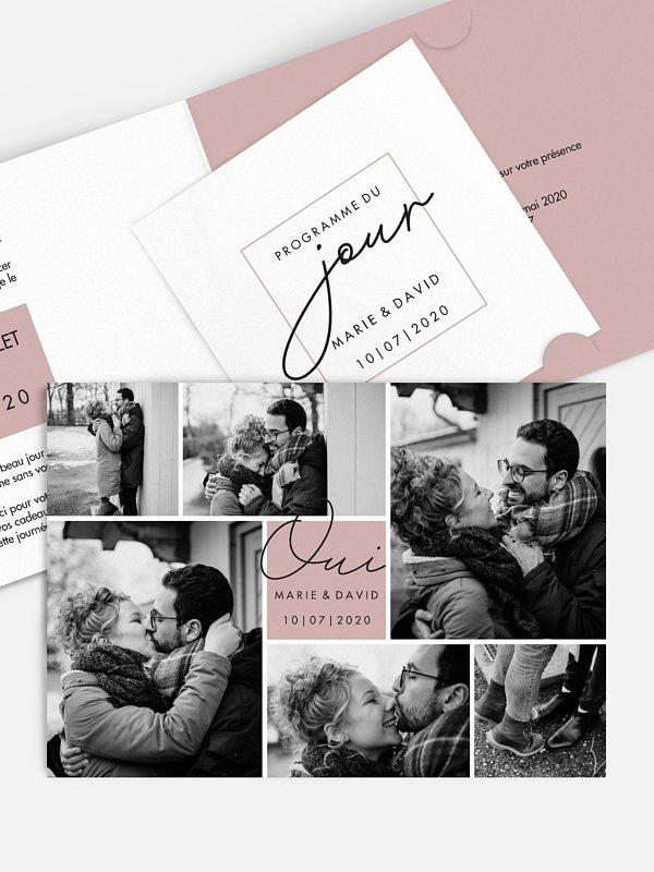 Faire-part de mariage Lasting Memories