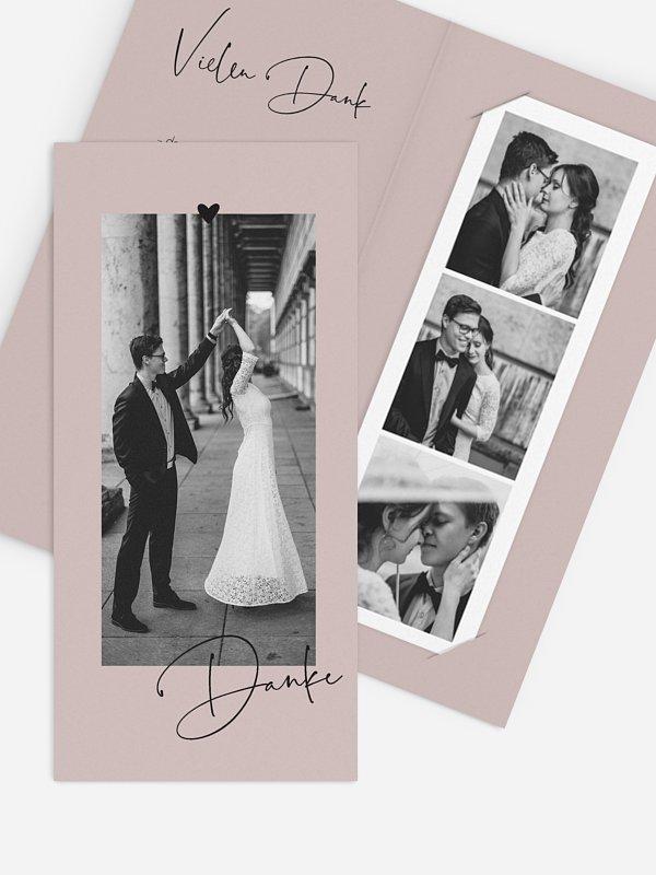 Dankeskarte Hochzeit Lovevibes