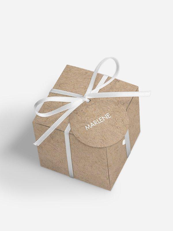 Gastgeschenkbox personalisiert Crafty