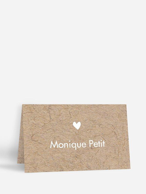 Marque-place mariage Crafty
