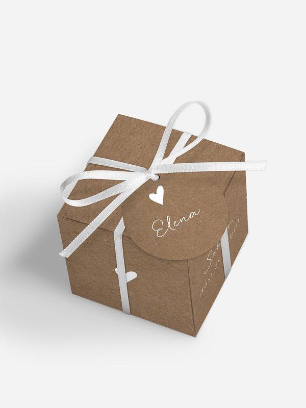 Gastgeschenkbox personalisiert Liebesglück