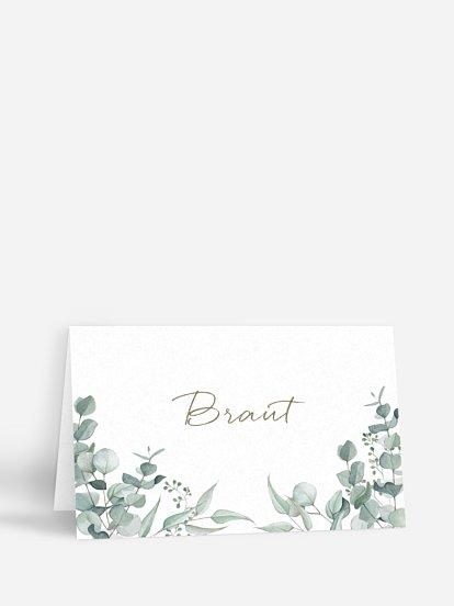 """Tischkarte Hochzeit """"Soft Greenery"""""""