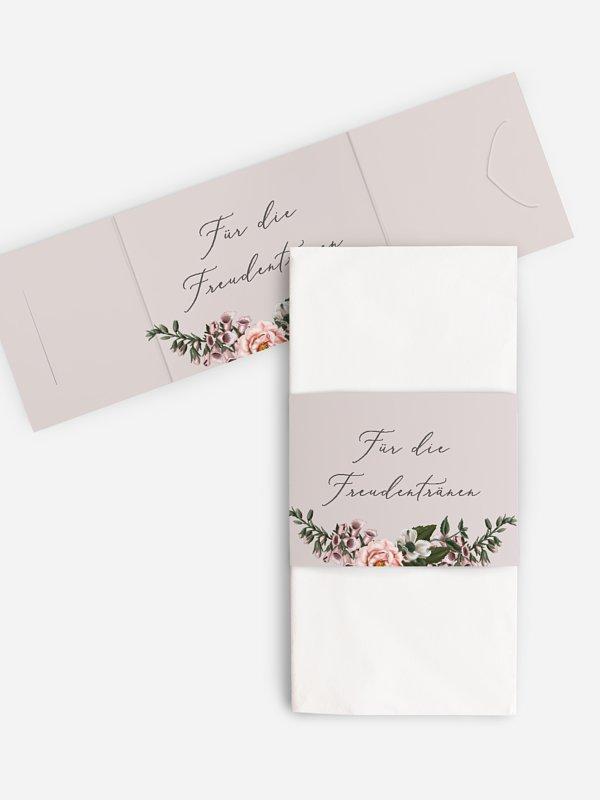 Freudentränen-Taschentücher In Bloom