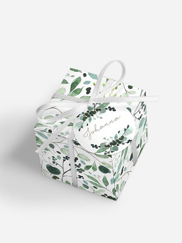 Gastgeschenkbox personalisiert All The Greenery