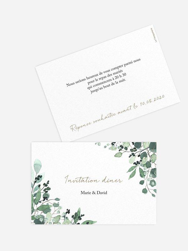 Carton d'invitation All The Greenery