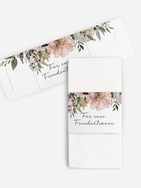 Freudentränen-Taschentücher Secret Garden