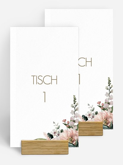"Tischnummer ""Secret Garden"""